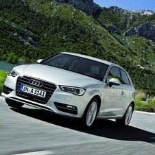 Audi introduced the A3 a few months ago at the Geneva Motor Show