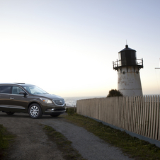 Buick Gives 2013 Enclave LED Lighting and Better Interior