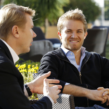 Rosberg grew up in Monaco