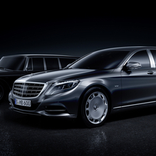 Confirmed on the Mercedes-Maybach Pullman is already the 530hp V12 engine, with a maximum torque of 830Nm