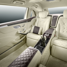Mercedes describes the cabin of the new Pullman as a lounge that offers the ultimate luxury experience and exclusivity