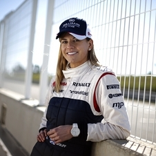 Wolff is the only female driver currently in F1