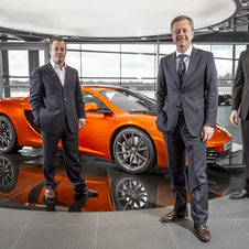 Jerome Della Santa - Brand Manager, McLaren Geneva; Bernard Thuner - Chief Executive, Autobritt S.A. Group; John Kraljevic - Managing Director, McLare