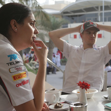 The other prominent woman in F1 is Monisha Kaltenborn, Sauber's team principal