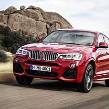 BMW X4 was thought to compete with the Porsche Macan and the Range Rover Evoque