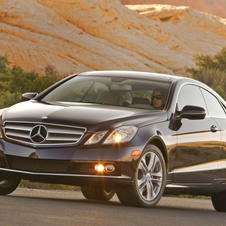 Mercedes-Benz E-Class E350 Coupe (USA)