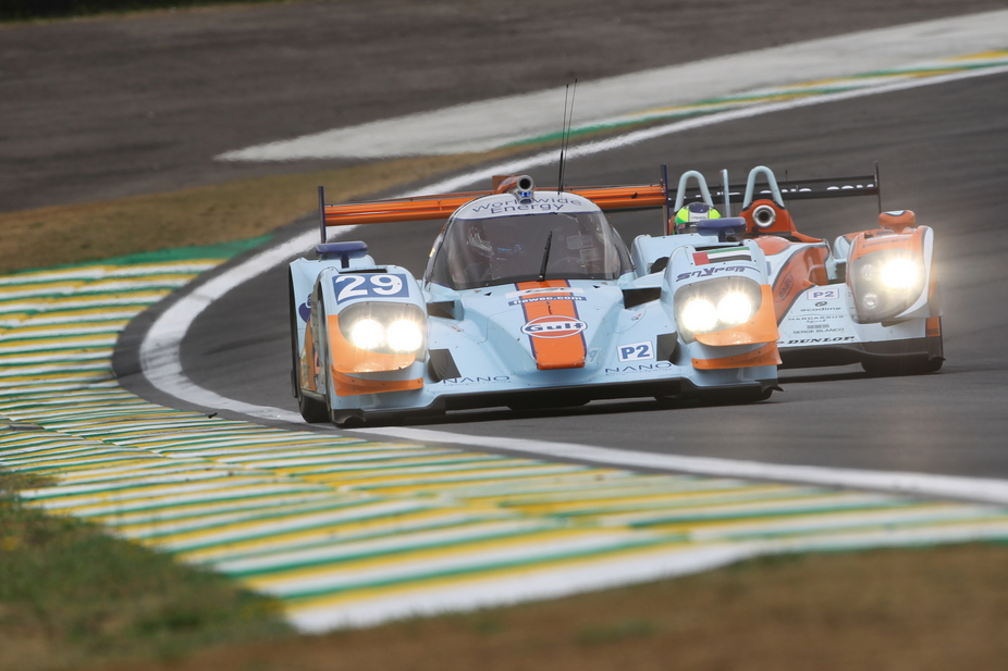 Lola supplied roughly a quarter of the LMP2 field