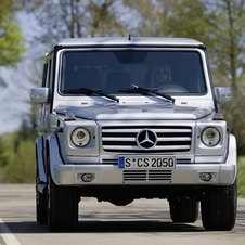 Mercedes-Benz G 350 BlueTEC Cabrio