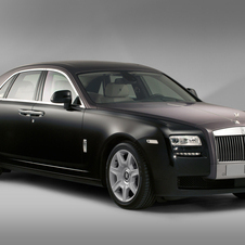 Rolls-Royce already offers the Ghost in standard and long wheelbase versions