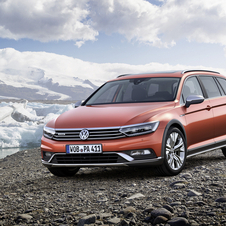The Alltrack range will include five engines that also appear in the current Passat range