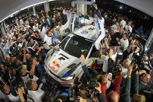 Ogier and Ingrassia have broken Sebastien Loeb's nine-year winning streak in the WRC