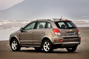 Chevrolet launching Captiva Sport in the US