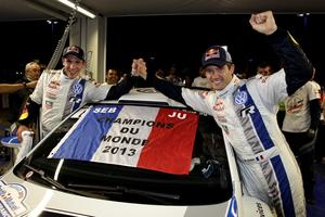 They also mark the first win for Volkswagen Motorsport