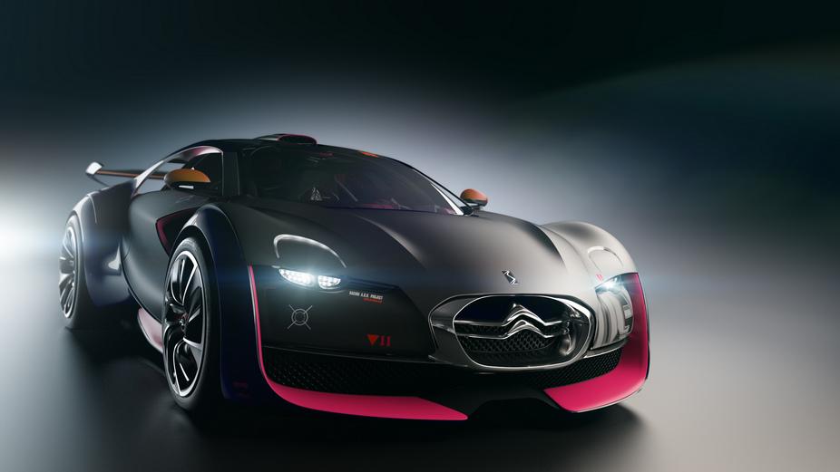 Citroën Survolt: Sports Car Electric Concept