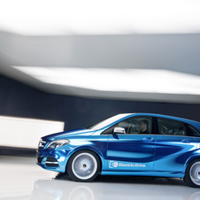 The production version of the electric B-Class is planned for 2014