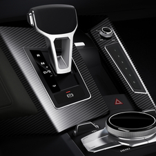 it uses the VW eight-speed Tiptronic transmission