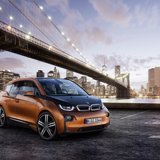 The i3 is the world's first mass production car to use a CFRP body
