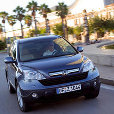 Honda CR-V EX-L 4WD 5-Spd AT w/ Navigation System