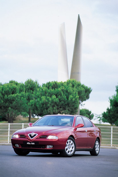 Alfa Romeo 166 2.0 V6 Turbo Super Distinctive