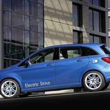 Mercedes-Benz B Electric Drive