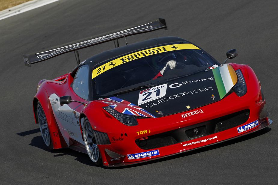 Ferrari 458 Italia Gt3 4 Photos And 25 Specs