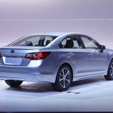 Subaru has decided to create a sportier and more refined styling for its flagship sedan