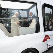 The first Popemobile came in 1980