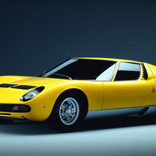 The Miura SV was limited to just 150 units