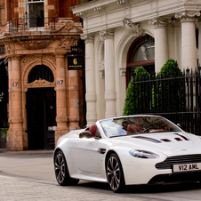 The chassis is basically the same as the V8 Vantage Roadster