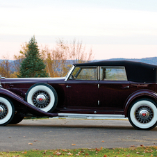 Packard Twin Six Individual Custom Convertible Sedan by Dietrich