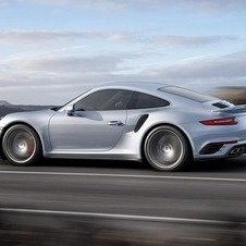 The new 911 Turbo and Turbo S follow the design of the current Carrera models