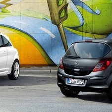 The Corsa and Adam share a platform, engines and production line