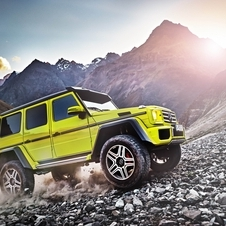 The G500 4x4² will be the first vehicle to receive the new Mercedes twin-turbo 4.0 V8 direct injection petrol engine