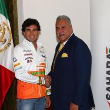 Sahara Force India has signed Sergio Perez to a multi-year deal