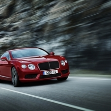 Russian buyers are also getting the new Continental GT V8