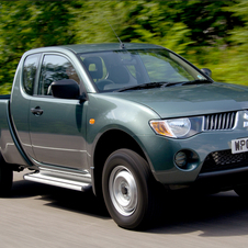 Mitsubishi L200 2.5 DI-D Single Cab 4Life