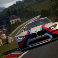 The BMW Vision Gran Turismo was created especially for the videogame