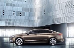 The first cars will be based on the Mondeo