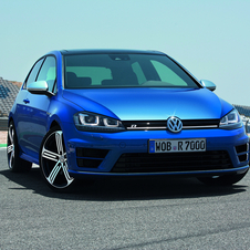 The Golf R will be sold as a two-door and four-door in Europe in the fourth quarter