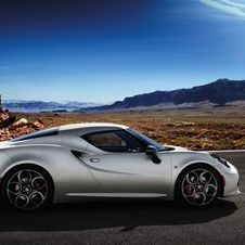 The planned Maserati would take the platform of the 4C