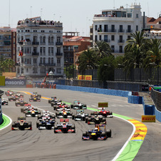 Valencia has been on the F1 calendar since 2008