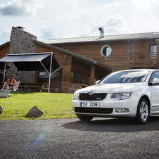 Skoda Superb 1.6I TDI CR 105hp Elegance Greenline