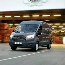 Ford Transit Van Ambiente 350 L3 2.0TDCi H2 Tr. Traseira
