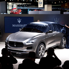 The Kubang being unveiled at the North American International Auto Show in Detroit