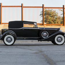 Packard Super 8 Convertible Victoria
