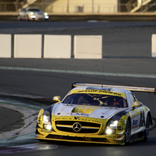 The GT3 version has had excellent performance on the track for the past two seasons