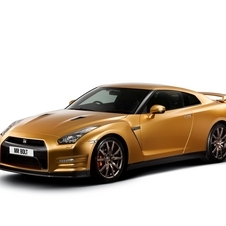 Nissan built two special Bolt Gold GT-Rs. One went to the winner of a charity auction, and the other went to Bolt