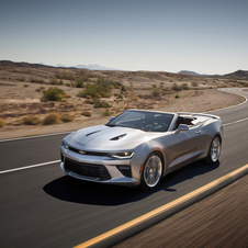 In terms of size and design, the new Camaro convertible is identical to the coupe version