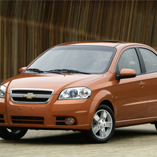 Chevrolet Aveo 2LT 4-Door