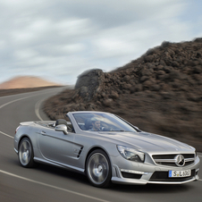 Mercedes is considering launching a more powerful SL63 AMG as well